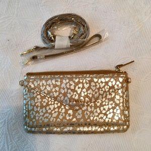 Handbags - NWOT LODIS 💯Leather 🐆printed
